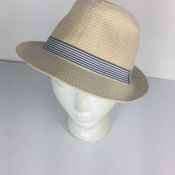 1c1fd2fde09bfb Maurices Accessories | Womens Tan Stripe Fedora Summer Hat | Poshmark